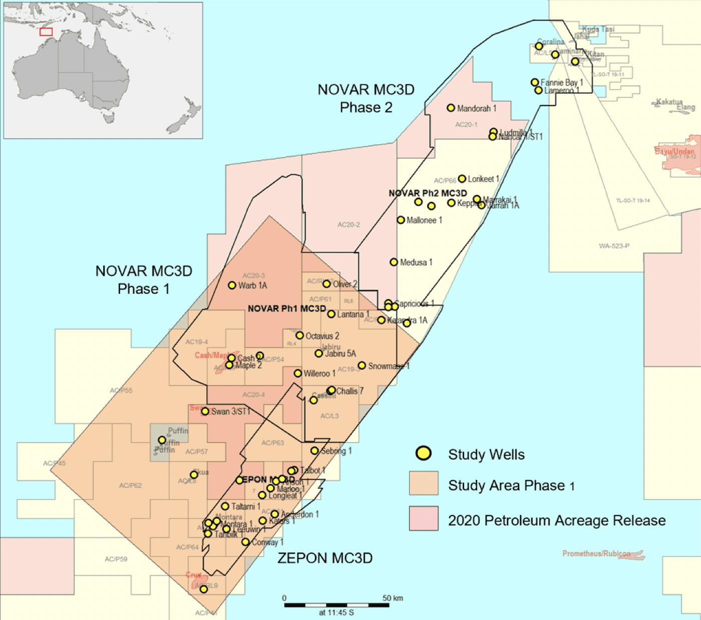 DUG Petrophysics & Rock Physics Study Vulcan Sub-Basin Phase 1